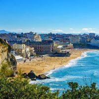 Description de la ville de Biarritz